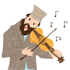 Und als der Rebbe singt