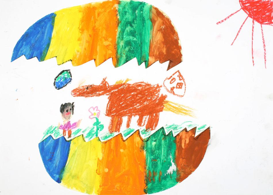 Ein Pferd kommt aus dem Ei von Ryomo (7)