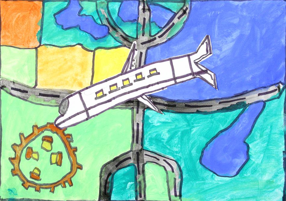 Flugzeug von oben  von Daniel (11)