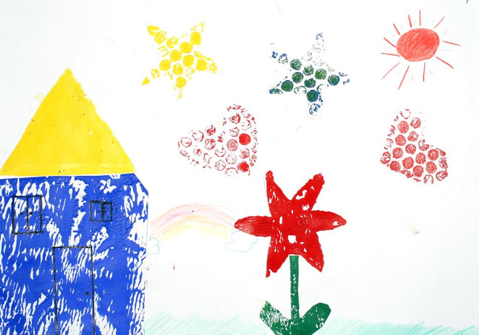 Haus, Herz, Blume, Stern von Yukako (9)
