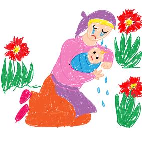 Mariechen sass weinend im Garten