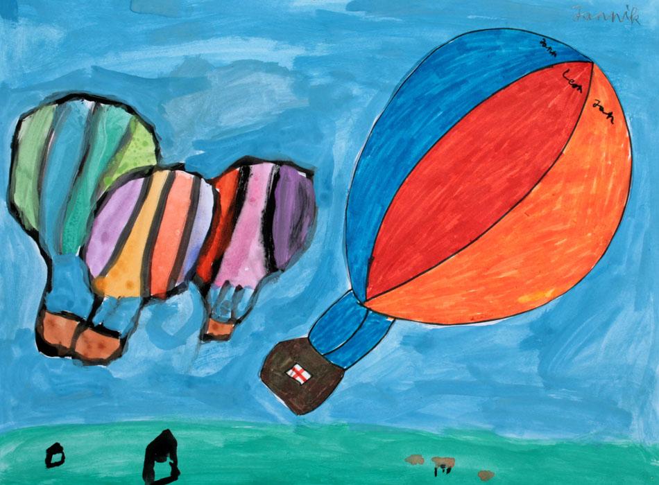 Fahrt mit dem Heißluftballon von Jannik (9)
