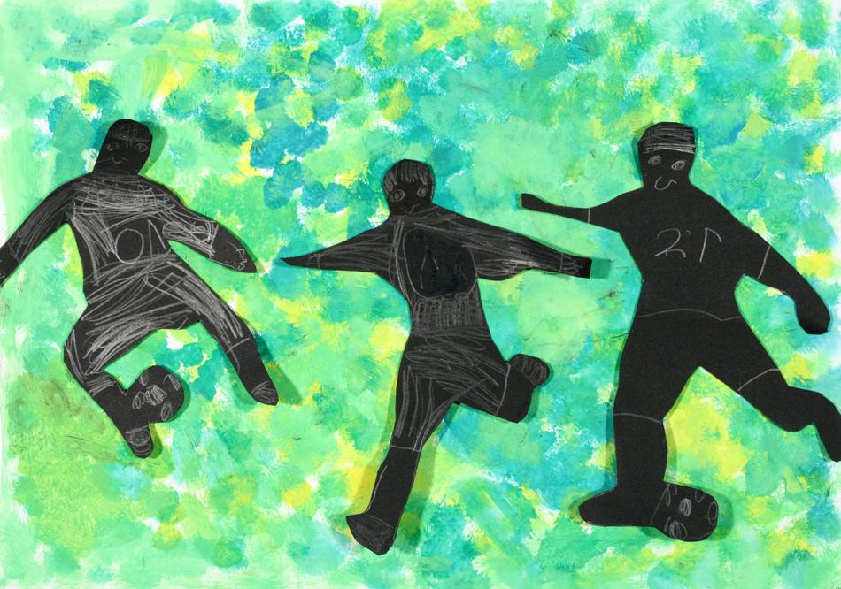 Fußball in Aktion von Julian (8)
