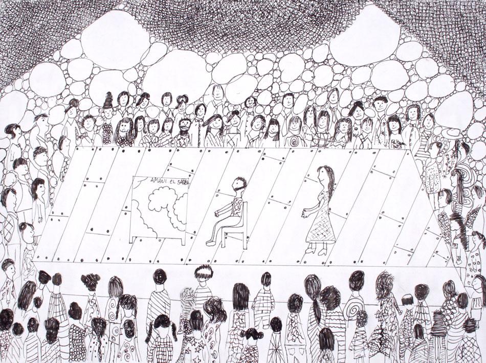 Berühmte Kunstwerke nachempfunden von Amani (12)
