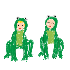 Sma grodorna