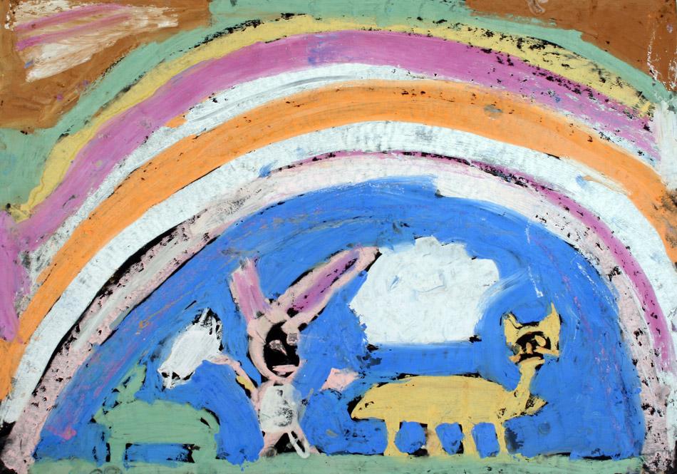 Katzen unterm Regenbogen von Julian (9)