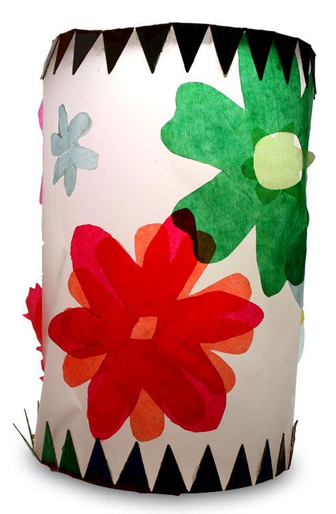 Blumen-Laterne von Lea (6)