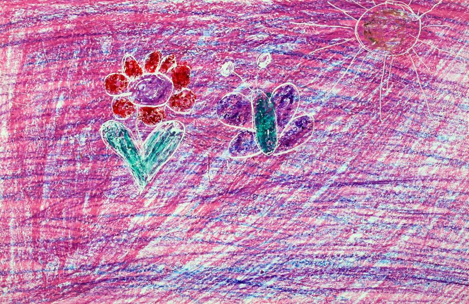 Blume und Schmetterling von Indra (7)