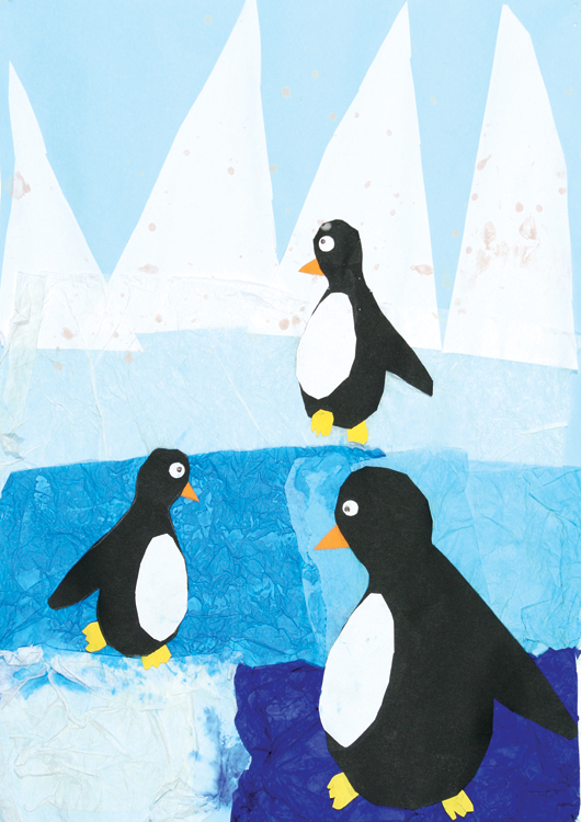 Pinguine am Nordpol von Dominika (9)