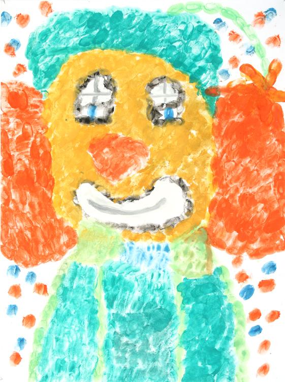 Clowngesicht von Weronika (9)