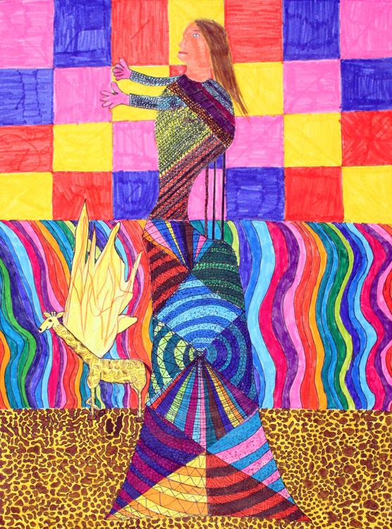 Berühmte Kunstwerke nachempfunden von Maline (12)