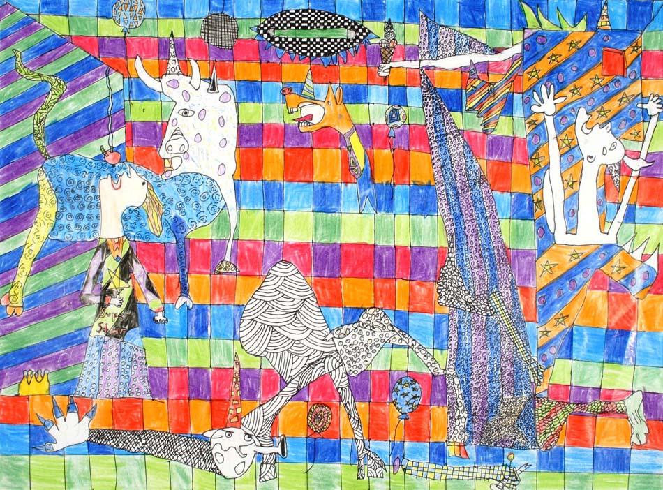 Berühmte Kunstwerke nachempfunden von Eva (12)