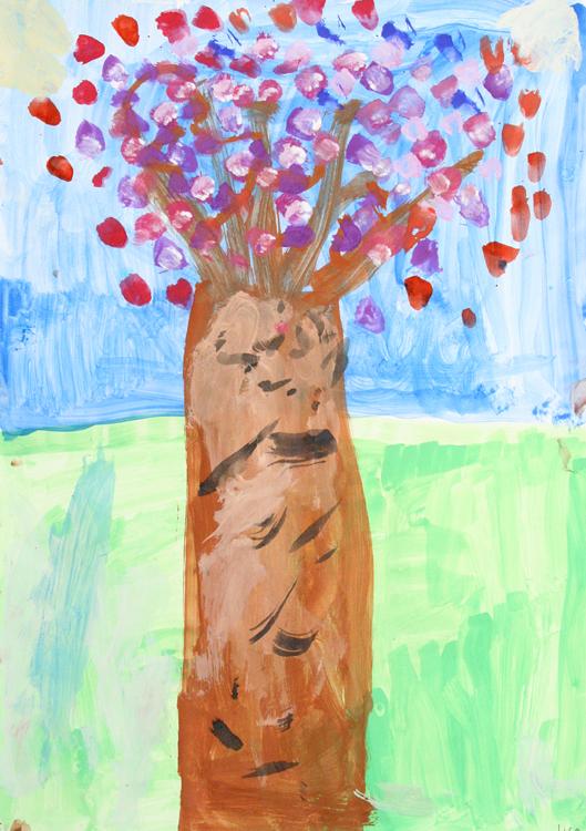 Blütenbaum von Lisa (10)