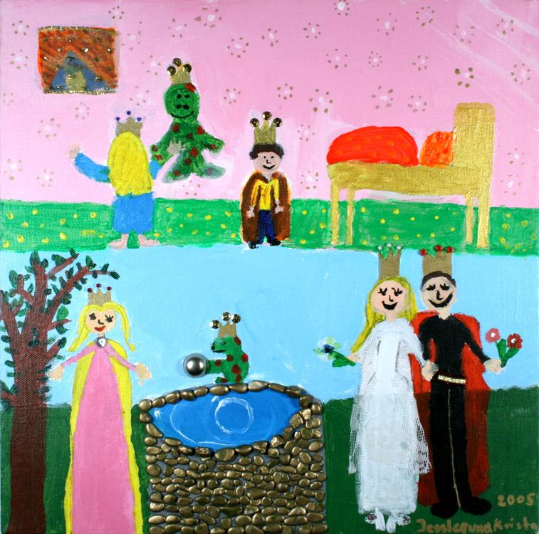 Froschkönig von Jessika (10) und Krista (9)