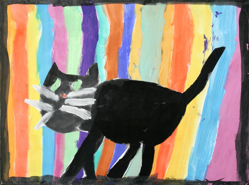 Schwarze Katze von Vanessa (7)