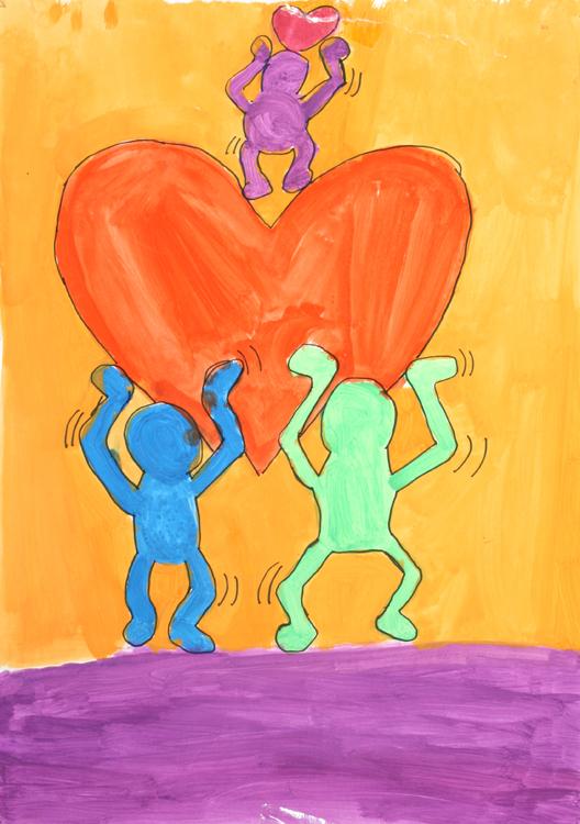 Malen wie Keith Haring von Lisa (9)