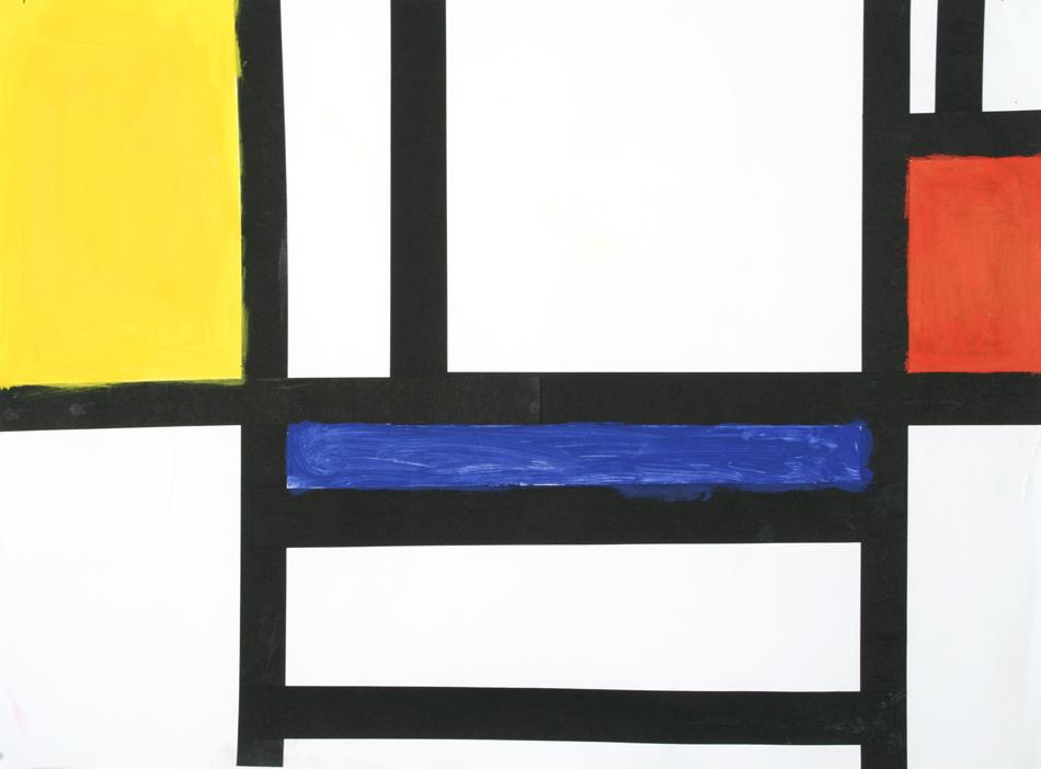Malen wie Mondrian von Sandra (9)