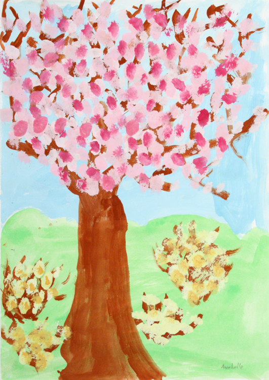 Blütenbaum von Annabelle (9)