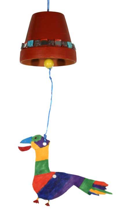 Glocke mit Vogel von Alessio (9)