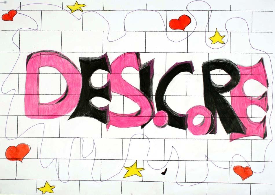 Graffiti mit dem eigenen Namen von Desicore (14)