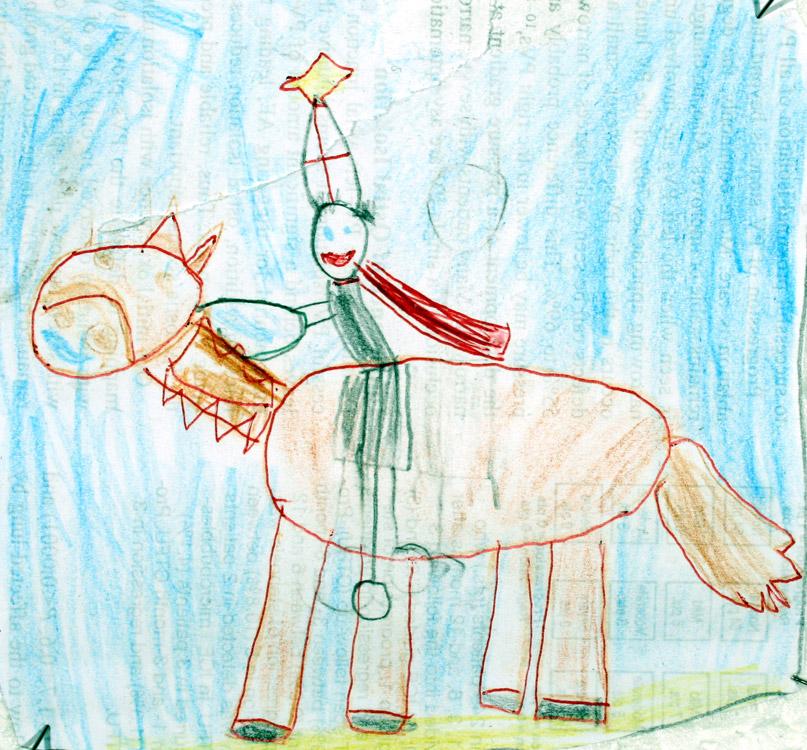 St. Martin auf dem Pferd von Rebecca (6)