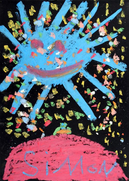 Blaue Sonne von Simon (7)