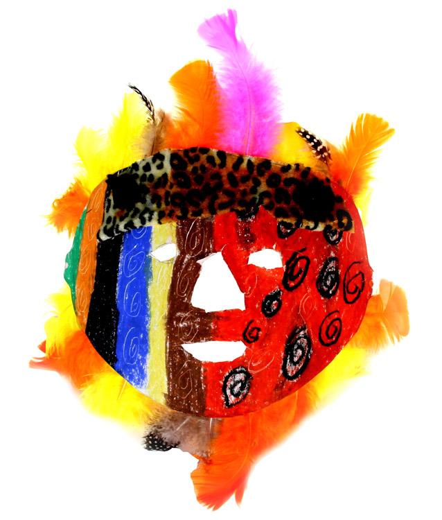 Afrikanische Maske von Emil (9)