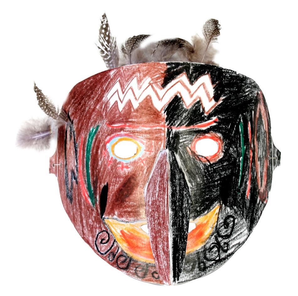 Afrikanische Maske von Patrick (9)