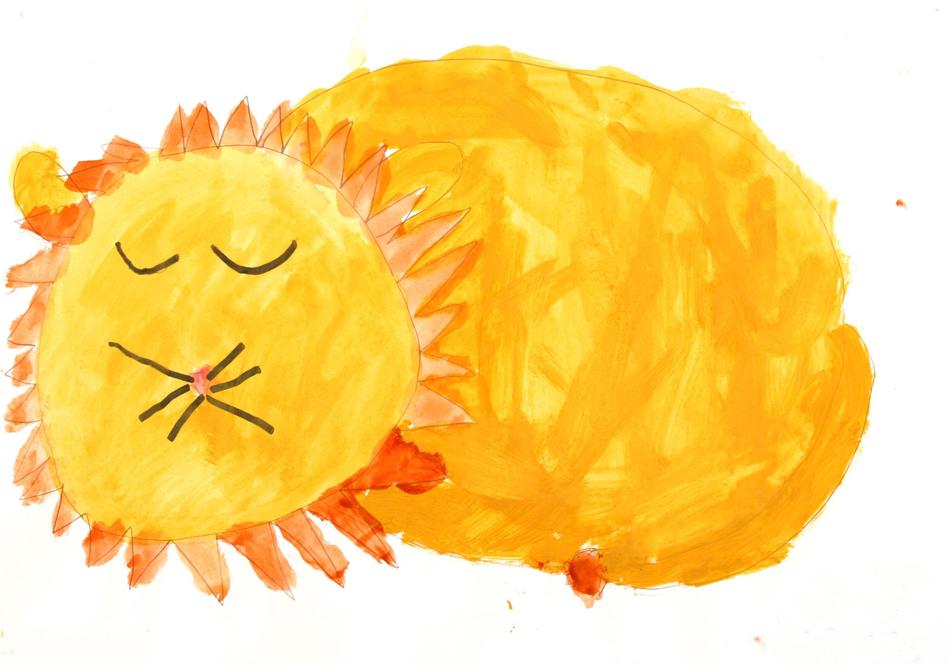 Schlafender Löwe von Bera (7)