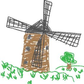 Meine Mühle, die braucht Wind