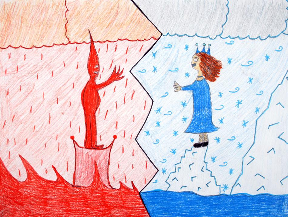 Feuerprinz und Eisprinzessin von Kevin (10)