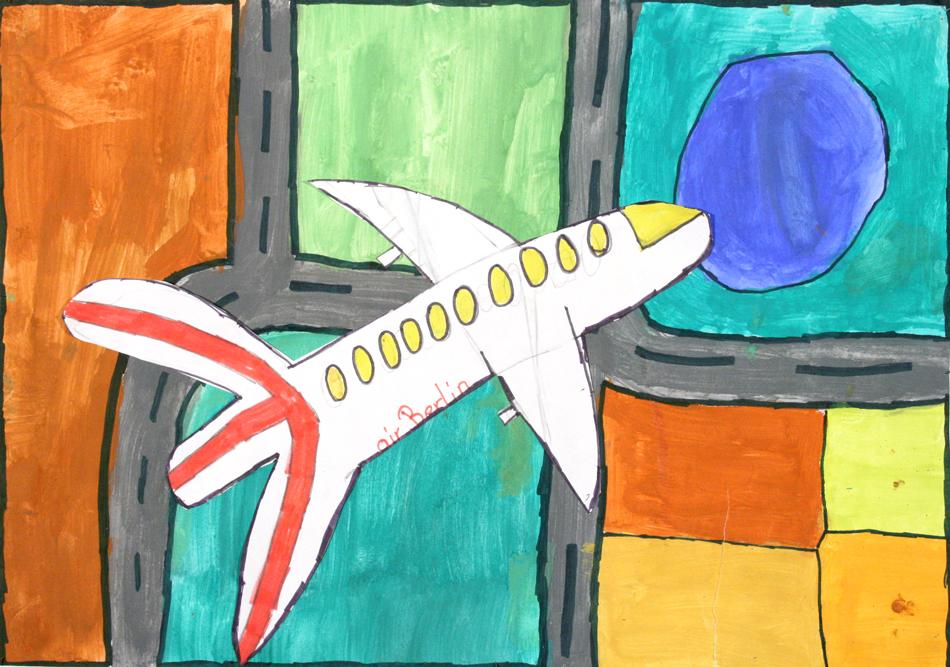 Flugzeug von oben  von Konstantina (9)