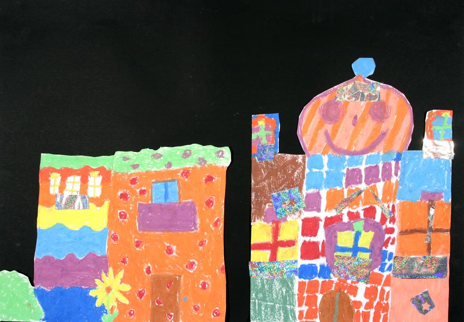 Hundertwasser-Häuser von Emma und Fre (9)