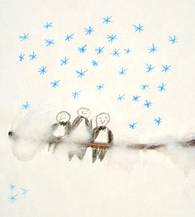 Spatzen im Schnee von Jan (8)