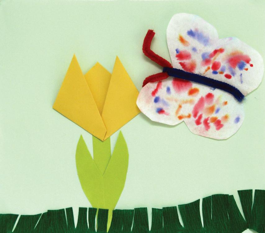 Tulpe und Schmetterling von Ben (6)
