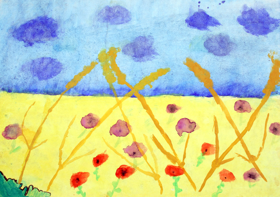 Getreide mit Feldblumen von Alexandra (8)