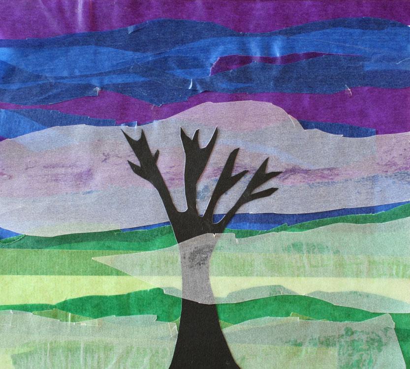 Baum im Nebel von Leander (8)