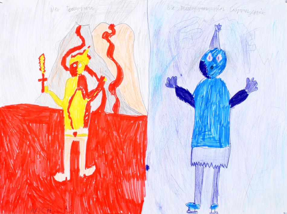Feuerprinz und Eisprinzessin von Nicholas (10)