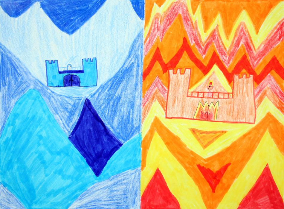 Feuerprinz und Eisprinzessin von Nick (10)