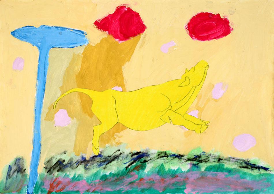 Gelbe Kuh von Dara (8)