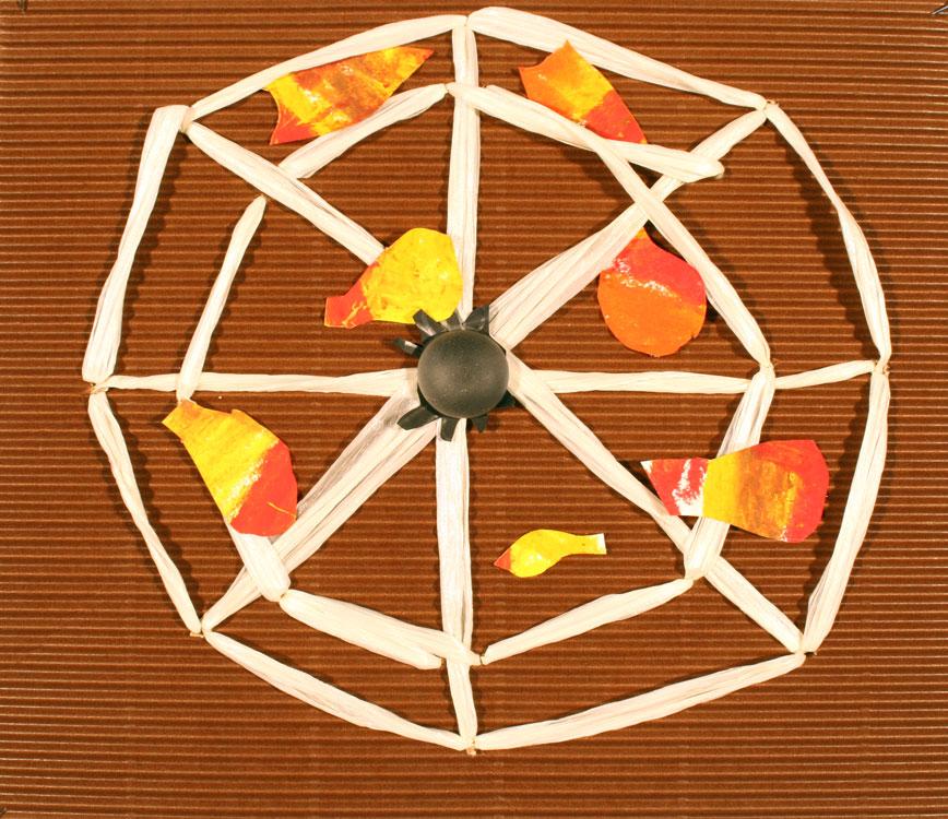 Spinnennetz im Herbst von Adrian (8)
