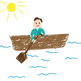 Michael, row the boat ashore