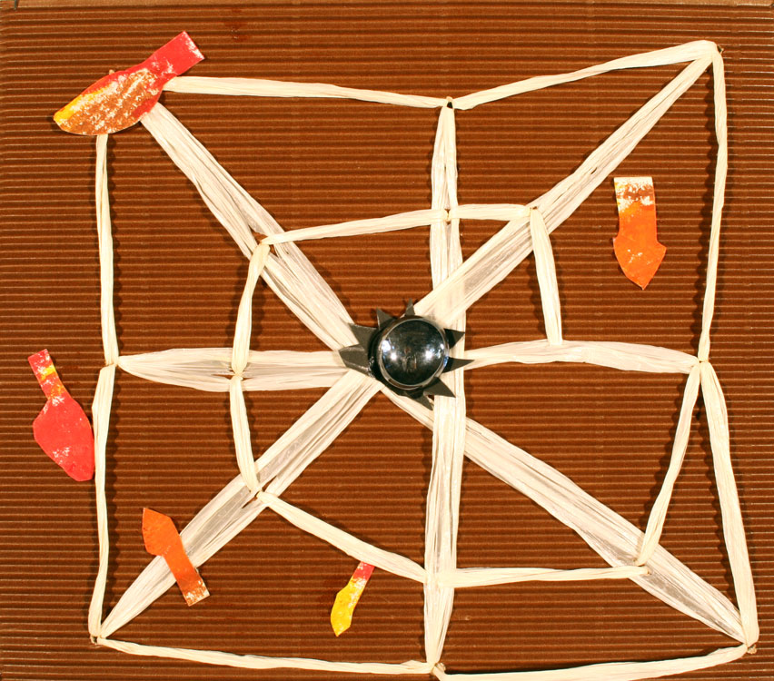 Spinnennetz im Herbst von David (8)