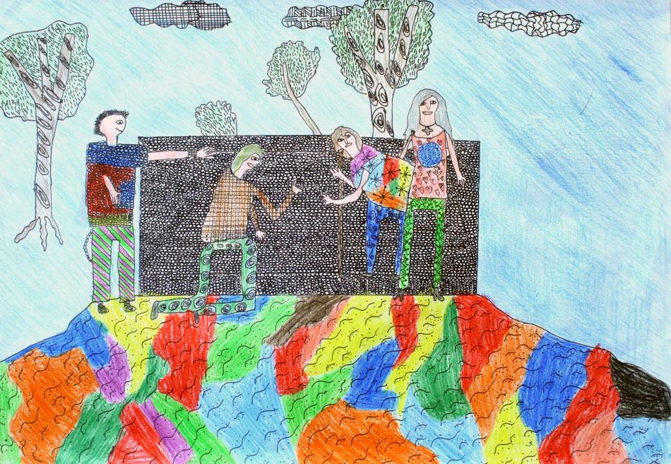 Berühmte Kunstwerke nachempfunden von Hannah (12)