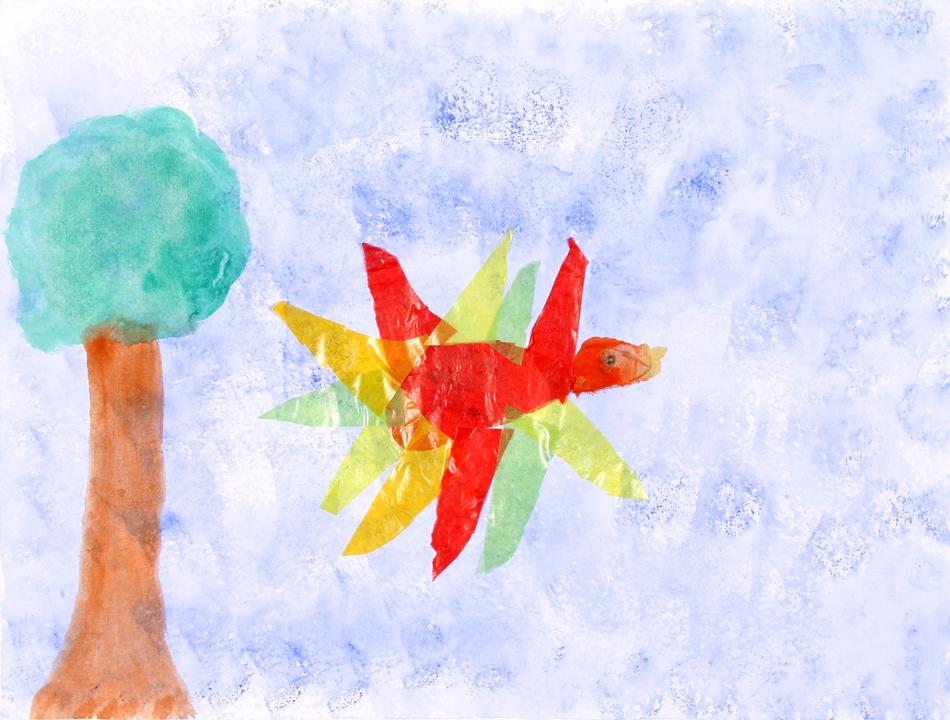 Fliegender Feuervogel von Rebecca (9)