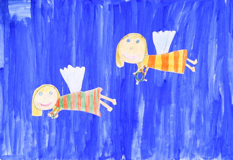 Fliegende Engel von Annika (10)