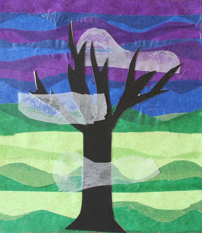 Baum im Nebel von Jonas (8)