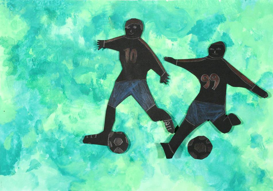 Fußball in Aktion von Jonas (8)