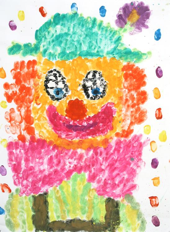 Clowngesicht von Dominika (9)
